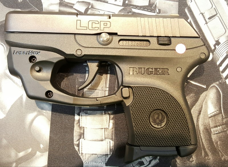 RUGER LCP-LM .380ACP W/LASER