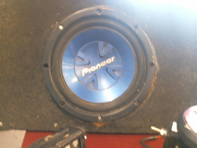 PIONEER ELECTRONICS Car Speakers/Speaker System PIONEER SUBWOOFER 10""
