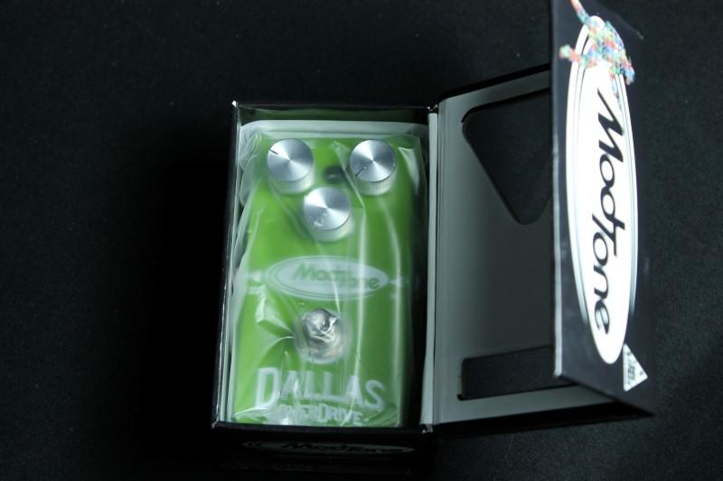 Mod Tone Dallas Overdrive MT-DO Effects Pedal