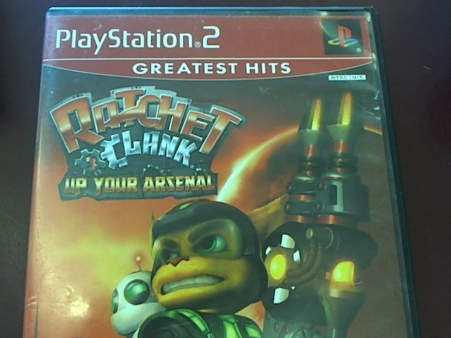 SONY PS2 RATCHET & CLANK UP YOUR ARSENAL