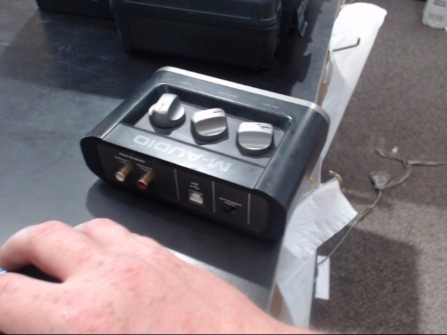 M AUDIO Computer Recording FAST TRACK