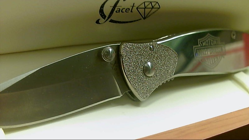 TecX Harley Davidson Stainless Steel Knife