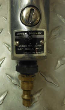 "CENTRAL PNEUMATIC 3/8"" AIR DRILL"