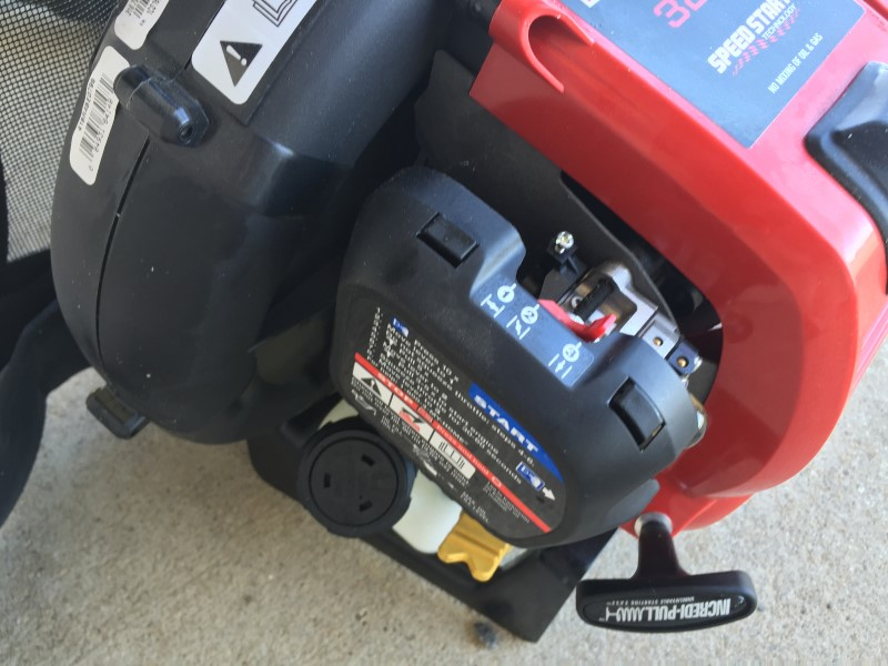 CRAFTSMAN 32CC BACKPACK LEAF BLOWER