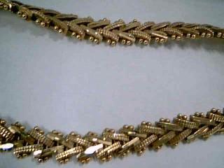 Gold Fashion Bracelet 14K Yellow Gold 15g