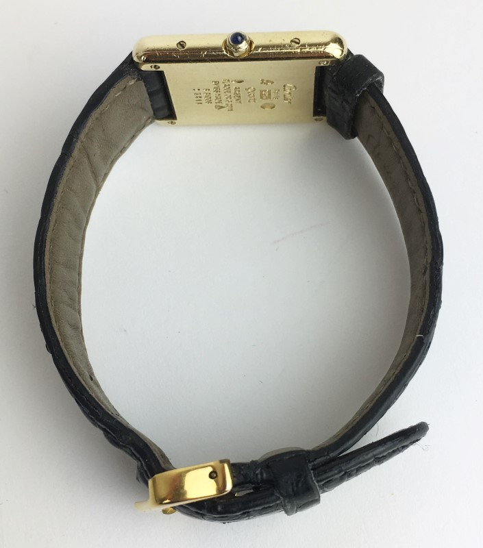 CARTIER Lady's VINTAGE TANK Watch