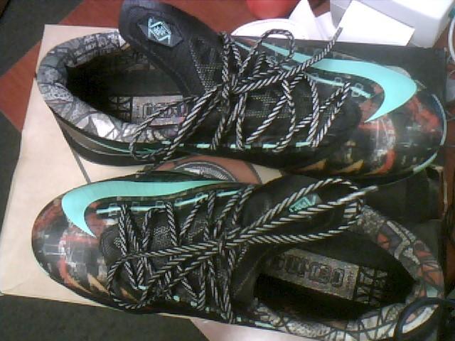 Nike Kd VI 6 - AS All Star Green Glow-Black Illusion 2014 647781-930 SZ 8.5