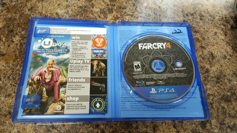 Far Cry 4 - Limited Edition (Sony PlayStation 4, 2014) PS4