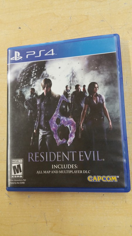 SONY Sony PlayStation 4 Game RESIDENT EVIL 6 - PS4