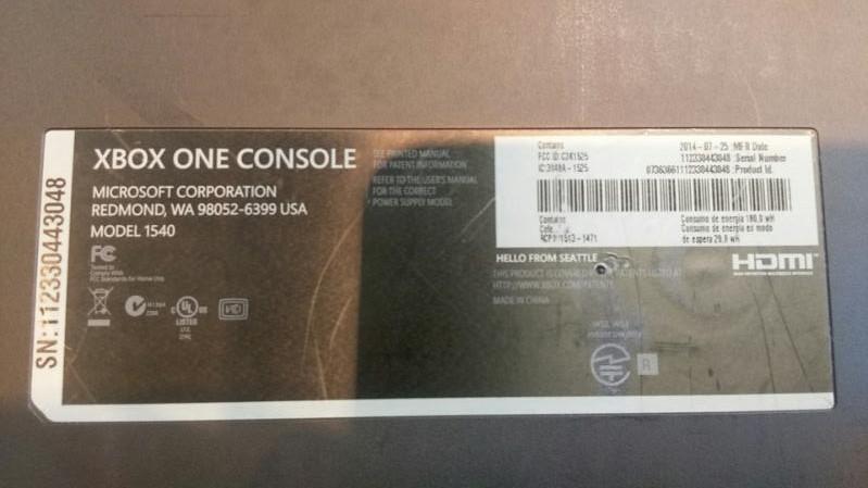 MICROSOFT XBOX ONE VIDEO GAME CONSOLE - 500GB - MODEL 1540 BLACK