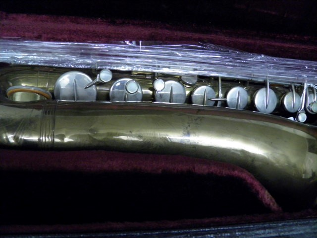 Antique MARTIN BAND INSTRUMENTS Saxophone THE INDIANA