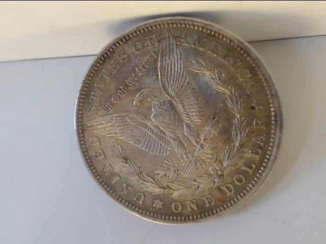 1921 Morgan Dollar $1 Coin NO MINT MARK 90% Silver