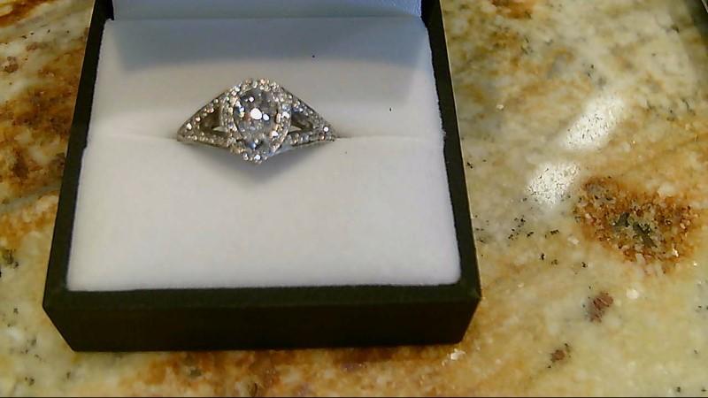 Lady's Diamond Wedding Set 169 Diamonds 2.23 Carat T.W. 14K White Gold 8.2g