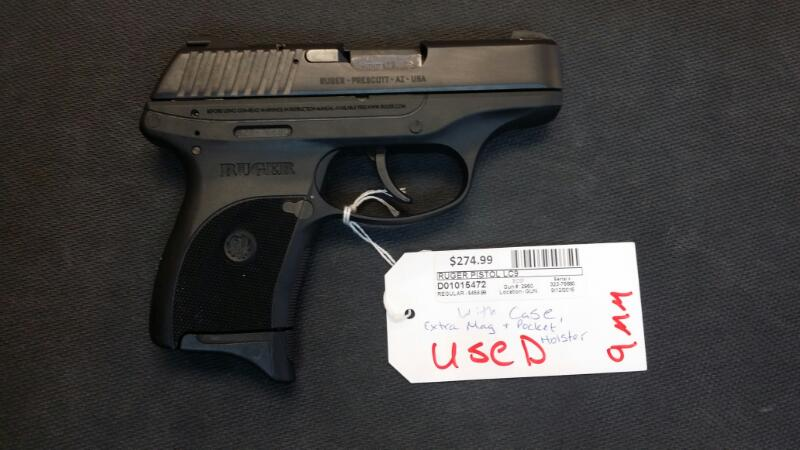 RUGER PISTOL LC9