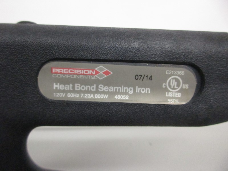 PRECISION COMPONENTS 246666 HEAT BOND SEAMING IRON