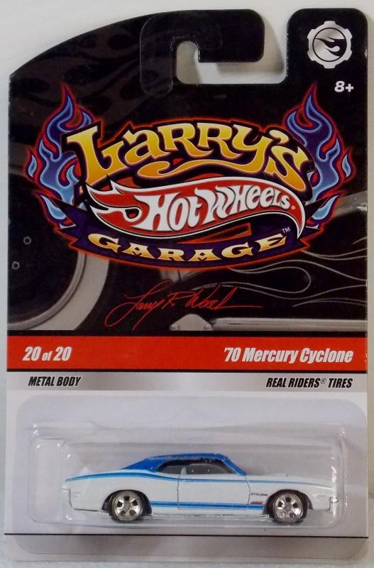 HOT WHEELS: LARRY'S GARAGE, INCOMPLETE SET