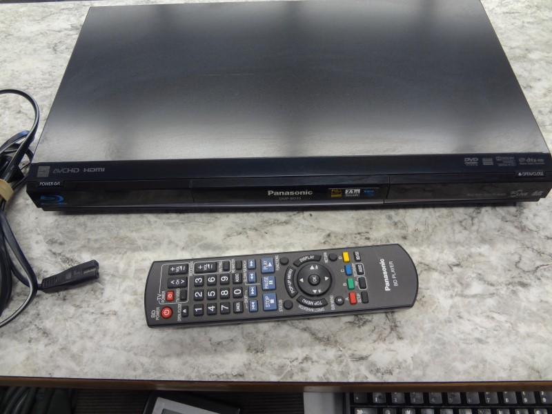 PANASONIC BLU-RAY PLAYER DMP-BD75
