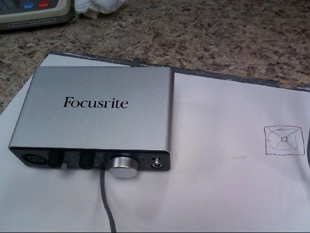 FOCUSRITE Computer Recording ITRACK SOLO