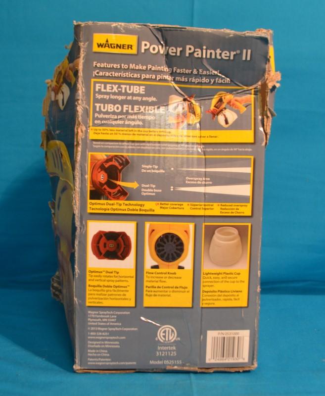 Wagner 0525155 Airless Power Painter II Sprayer