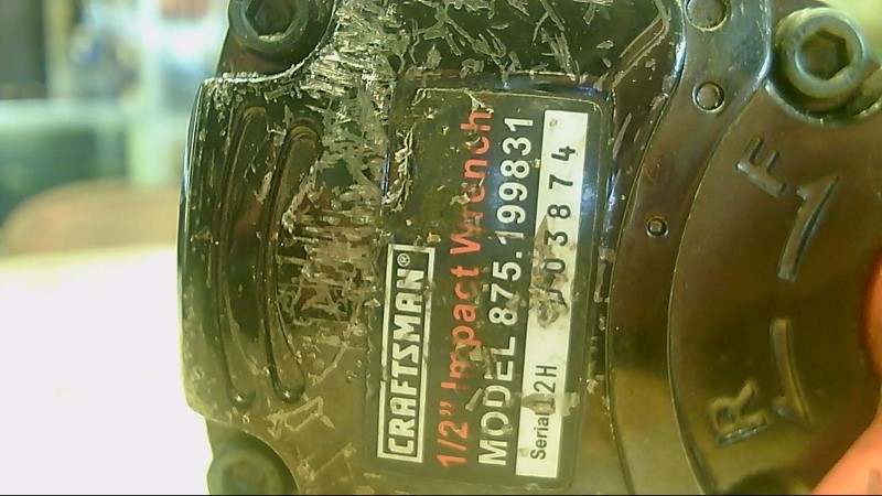 CRAFTSMAN Air Impact Wrench 875.199831