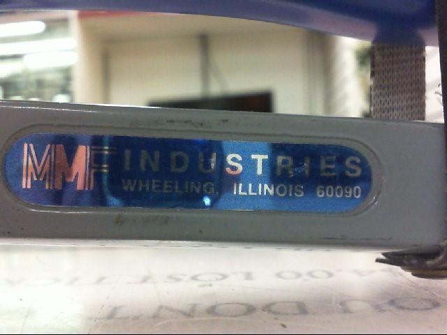 MMF Industries Plain Die Seal Press for Enviro Bag Seals and EZ Crimp Plastic
