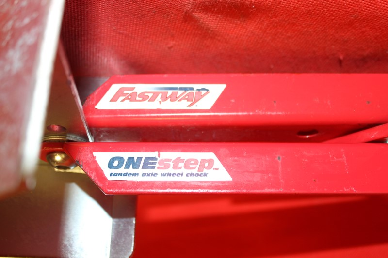 Fastway ONEstep Truck TV Automabile Wheel Chock