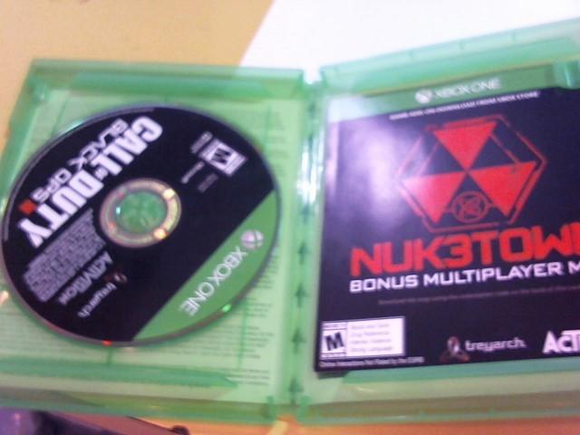 MICROSOFT Microsoft XBOX 360 Game CALL OF DUTY - BLACK OPS III - XBOX ONE