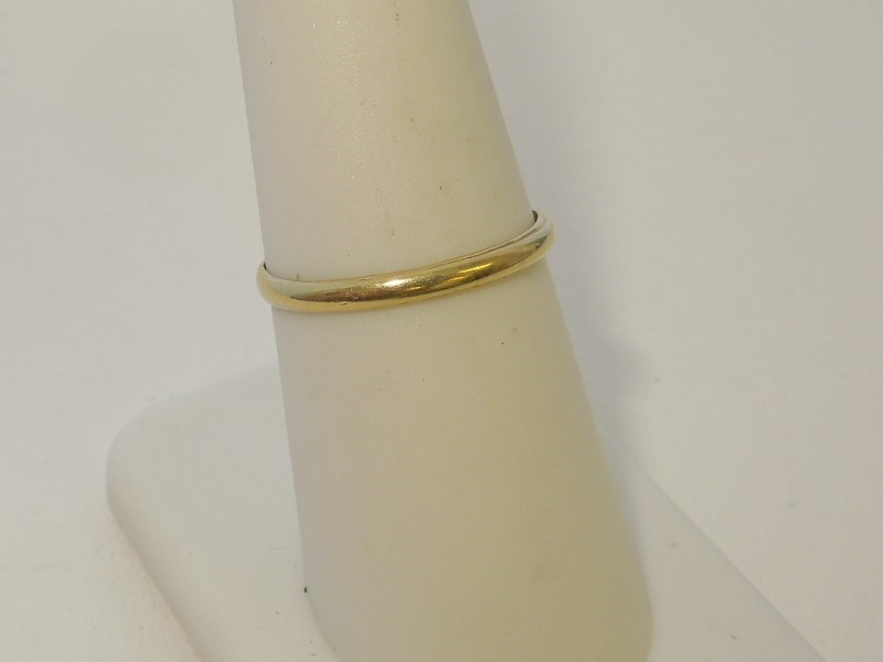 Lady's Gold Ring 14K Yellow Gold 1.1g Size:7