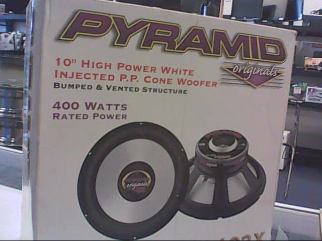 PYRAMID CAR AUDIO Car Speakers/Speaker System WX-102X