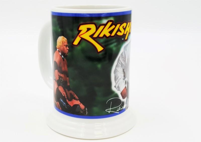 Danbury Mint WWF Rikishi Collector Wrestling Mug / Stein 2001
