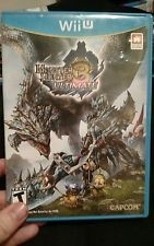 NINTENDO Nintendo Wii U Game MONSTER HUNTER 3 ULTIMATE WII U