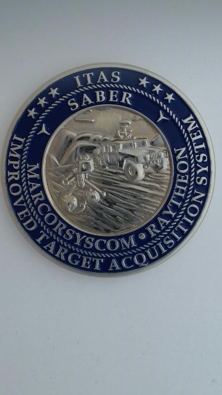 USMS WEAPONS MEDALLIONS, GOOD CONDITION.