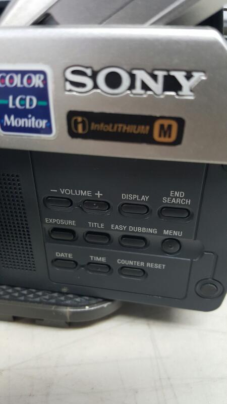 Sony Handycam CCD-TRV108 8mm Video8 HI8 Camcorder