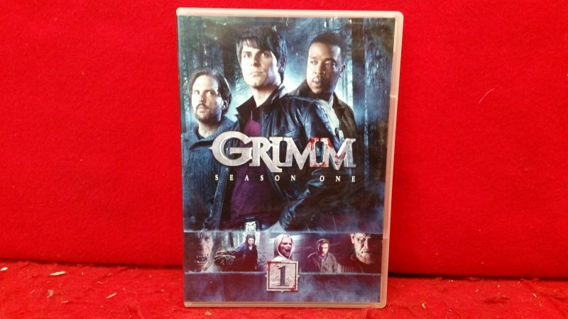 Grimm: Season One (DVD, 2012, 5-Disc Set)