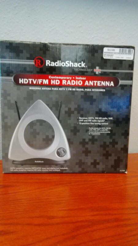 RADIOSHACK HDTV/FM RADIO ANTENNA