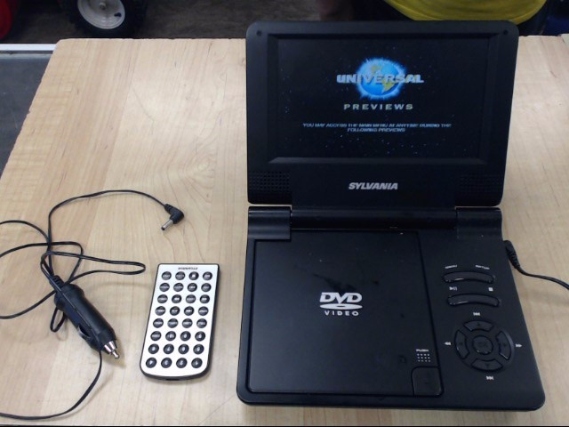 SYLVANIA Portable DVD Player SDVD7014