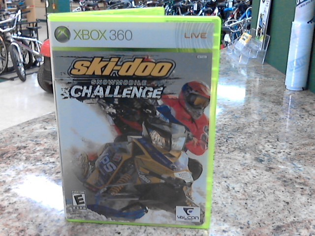 MICROSOFT Microsoft XBOX 360 Game SKI-DOO SNOWMOBILE CHALLENGE
