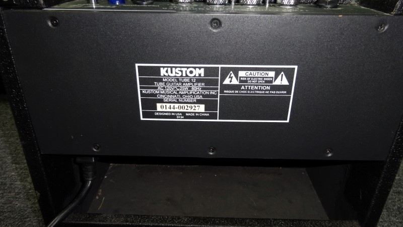 KUSTOM AMPLIFICATION Electric Guitar Amp TUBE 12