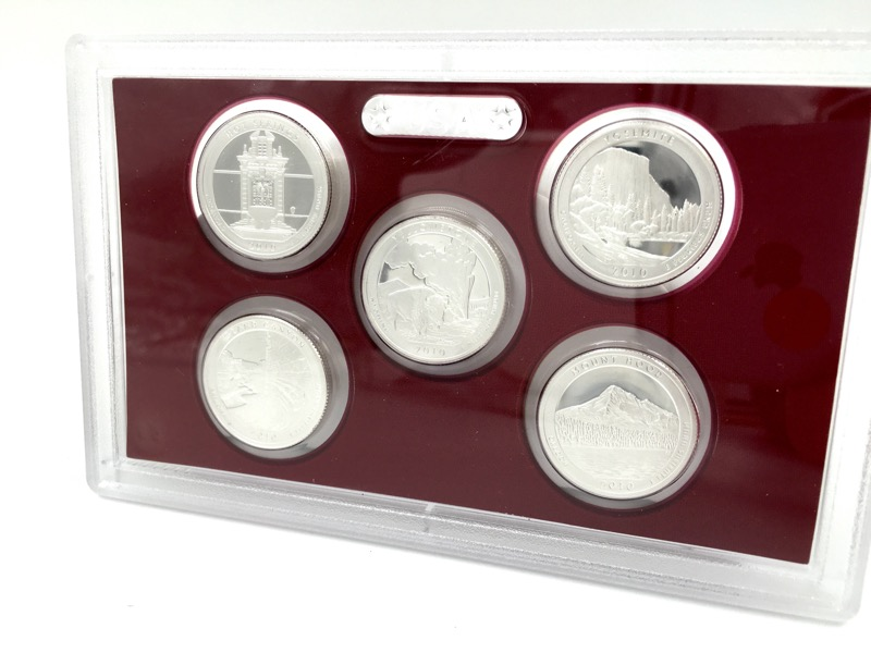 2010 United States Mint Silver Proof Set - With Box & COA