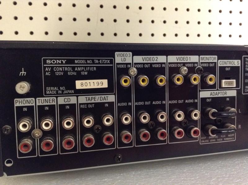 SONY Receiver TA-E731X