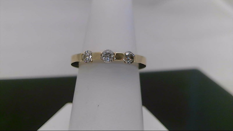 0.33 CTTW Yellow Gold Round Diamond Ring
