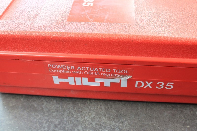 HILTI Cement Hand Tool DX35