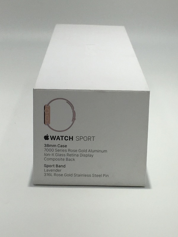Apple Watch Sport 38mm Rose Gold/Lavender (MLCH2LL/A)