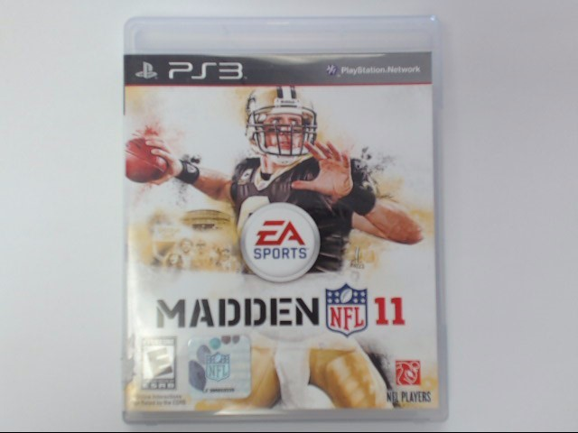 Sony PlayStation 3 Game MADDEN 11 PS3