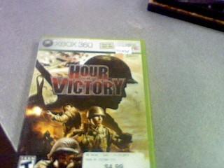MICROSOFT Microsoft XBOX 360 Game HOUR OF VICTORY