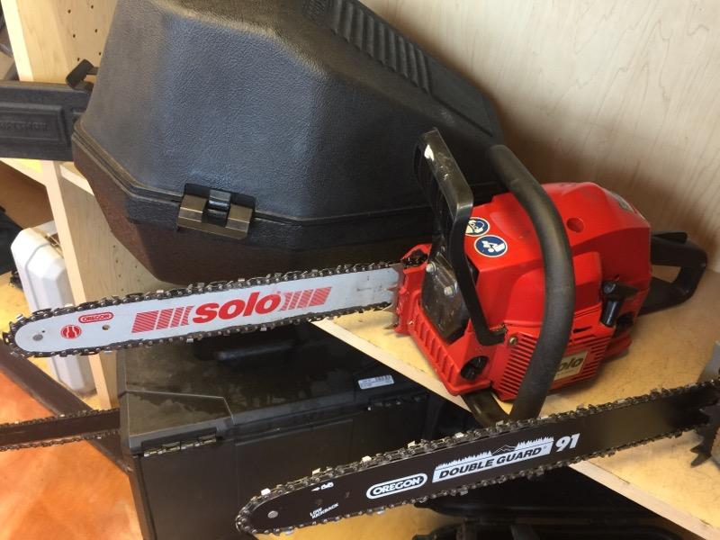 SOLO Chainsaw 636
