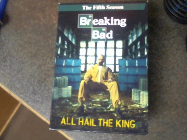 DVD BOX SET DVD BREAKING BAD THE FIFTH SEASON