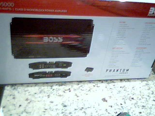 BOSS Car Amplifier AVA-PD5000