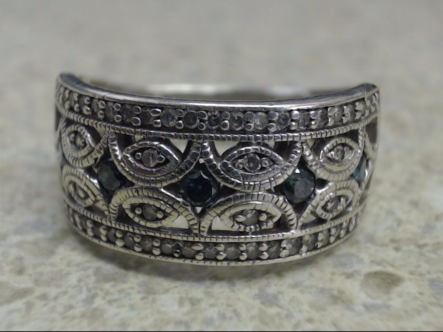 Lady's Silver Ring 925 Silver 5g Size:8.25