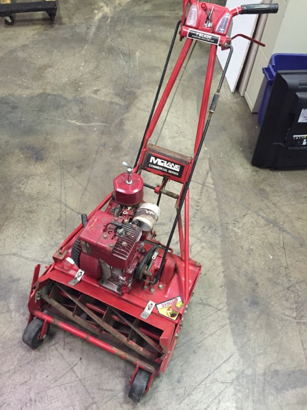 MCLANE Lawn Mower COMMERCIAL 7 BLADE